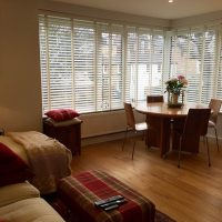 CUSTOM VENETIAN BLINDS FOR LIVING ROOM