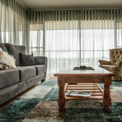 best sheer curtains for living room 3 side window