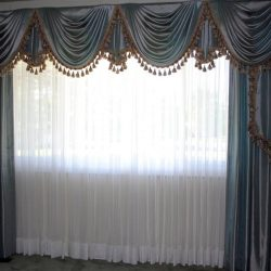best sheer curtains with silk curtains in dubai
