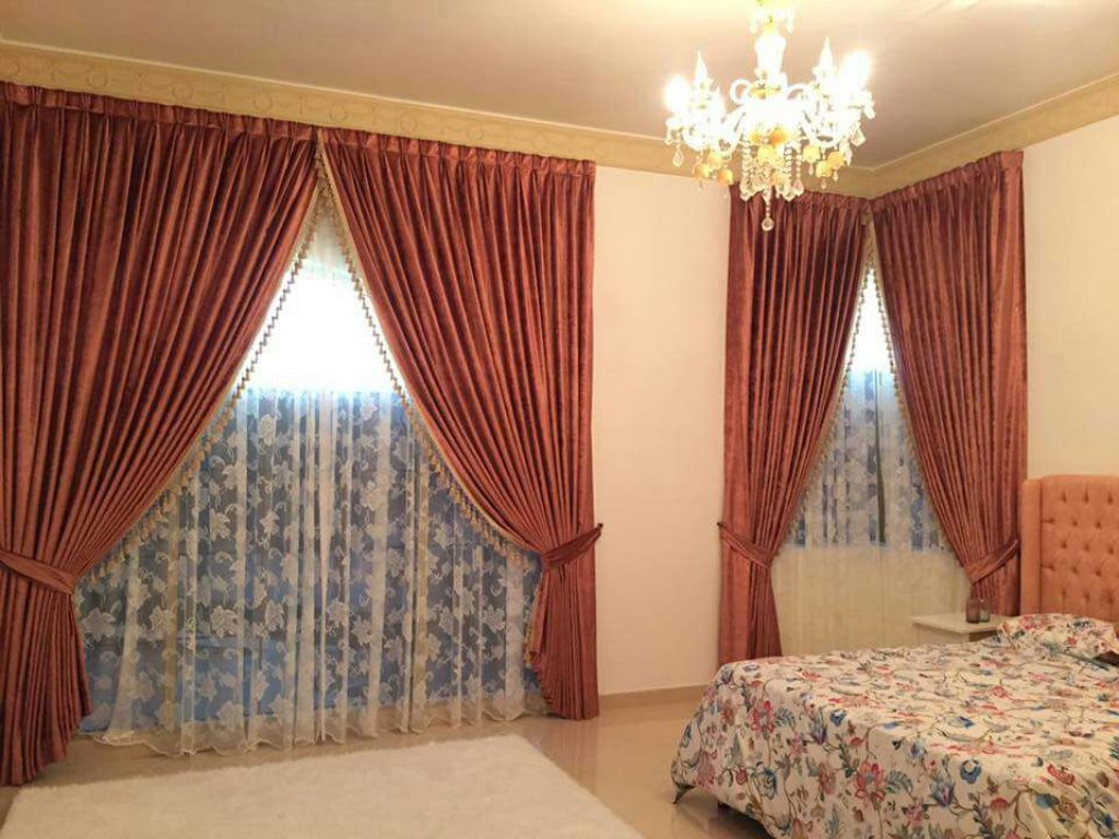 100 sunshine blackout curtains in dubai abu dhabi. Black Bedroom Furniture Sets. Home Design Ideas