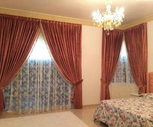 blackout curtains for bedroom in dubai abu dhabi UAE