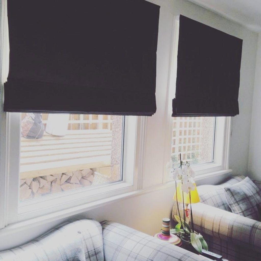 Made To Measure Fabric Roman Blinds