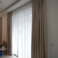 electric motorized curtains by dubai curtain