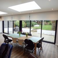 motorised blinds & curtains for office
