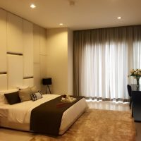motorized curtains for bedroom in dubai by dubai curtain
