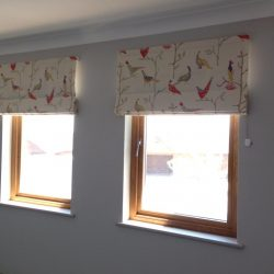 roman blinds for bedroom and living room in dubai