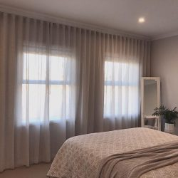 sheer curains for bedroom & hotel