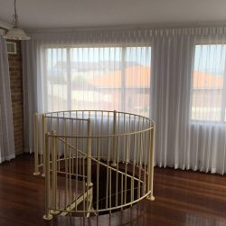 sheer curtain for your stair room in dubai