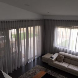 window sheer curtains for living rooom in dubai