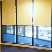 yellow color roller blinds in dubai