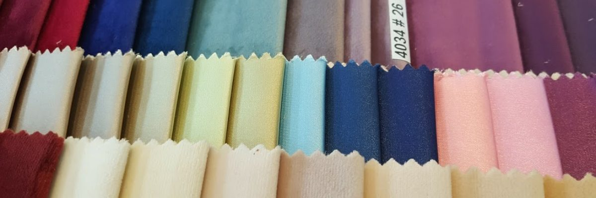 blackout curtains fabric in multi colours in dubai