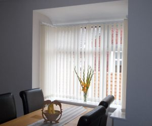 white vertical blinds in abu dhabi & dubai for office window