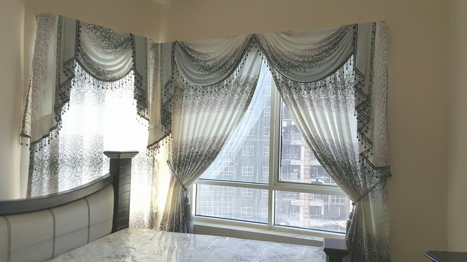 DRAPERY CURTAINS FOR BEDROOM IN DUBAI AND ABU DHABI UAE