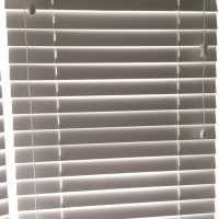 office window venetian blinds
